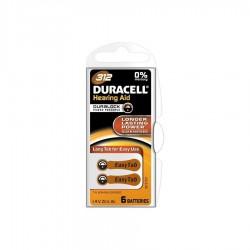 Bateria Duracell PR 312 6 szt.