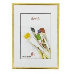 Ramka 21 x 30 cm alt gold