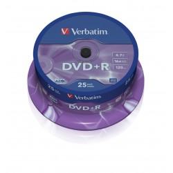 DVD+R VERBATIM AZO 25