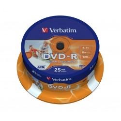 DVD-R do nadruku Verbatim Cake 50 szt.