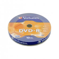 DVD-R Verbatim Cake 25 szt. Matt Silver