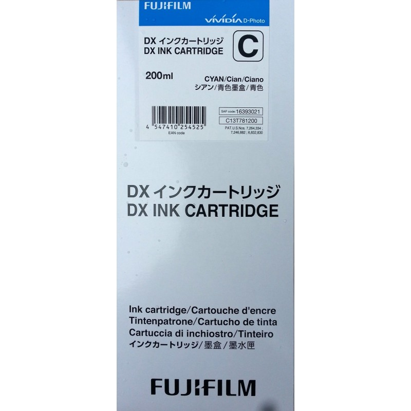Cartridge CYAN Fuji Frontier-S DX100 200 ml
