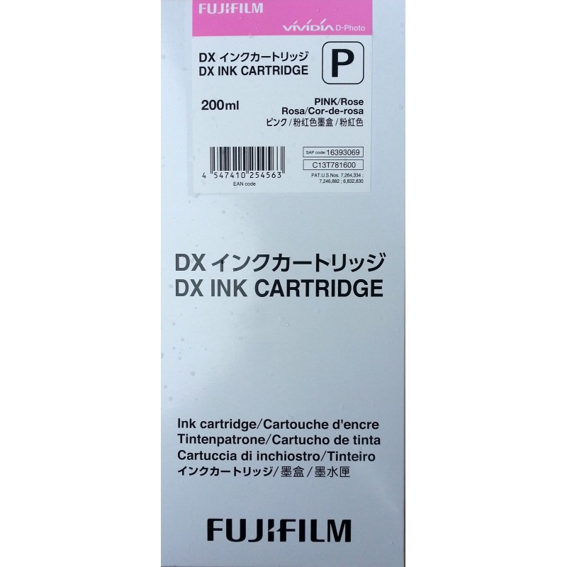 Tusz PINK Fuji Frontier-S DX100 200 ml