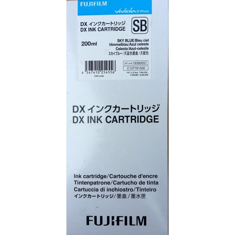 Cartridge SKY BLUE Fuji Frontier-S DX100 200 ml