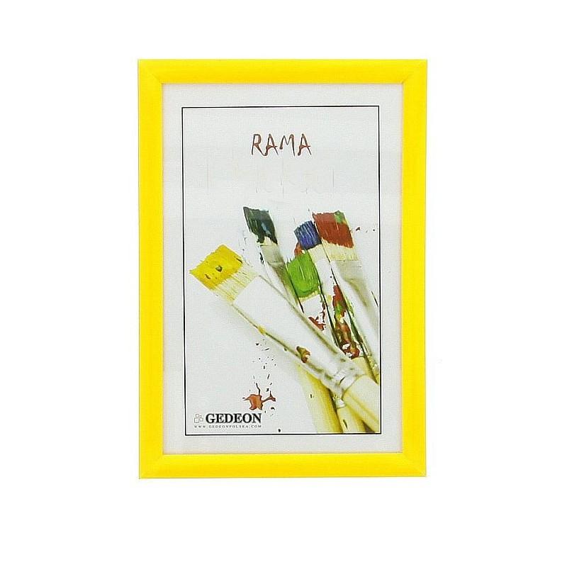 Frame 13 x 18 cm yellow - Altra