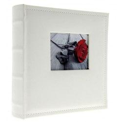Album KD46200 White W 10x15 cm 200 zdj. szyty z miejscem na opis