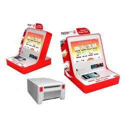 Mitsubishi Zestaw kiosk Basic DEMO + drukarka K60DW-S + 2 kartony papieru