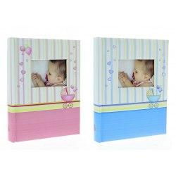 Album KD46100/2 Baby Chart 10x15 cm 100 zdj. szyty z miejscem na opis