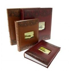Album KD46100 Luxury - 10x15 cm, 100 zdjęć, szyty z miejscem na opis