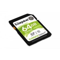 SDXC 64 GB Kingston Canvas 80 MB/s