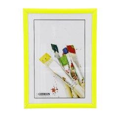 Ramka 21 x 30 cm plastik żółta