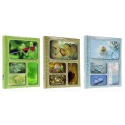 Album B46200 Linen 10x15 cm 200 zdj szyty z miejscem na opis