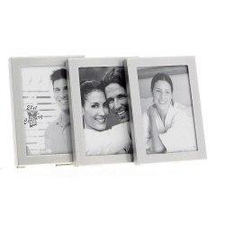3pg Frame 4 X 6 cm x 3 silver