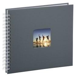Album Hama Fine Art 28x24 50 str. pergaminowy czarne strony - szary