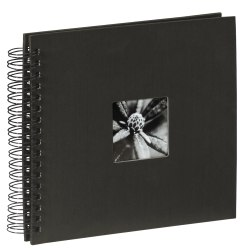 Album Hama Fine Art 28x24 50 str. pergaminowy czarne strony - czarny