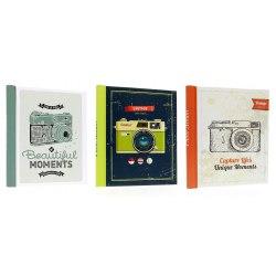 DRS20 Camera 40 pages, magnetic foil