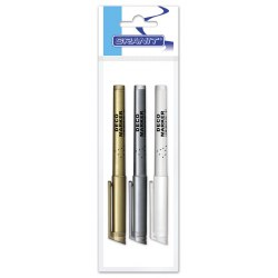 Marker Deco M850 3 pcs (whitr, silver,gold)