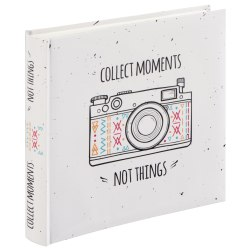 Hama Collect Moments 100 white parchment pages
