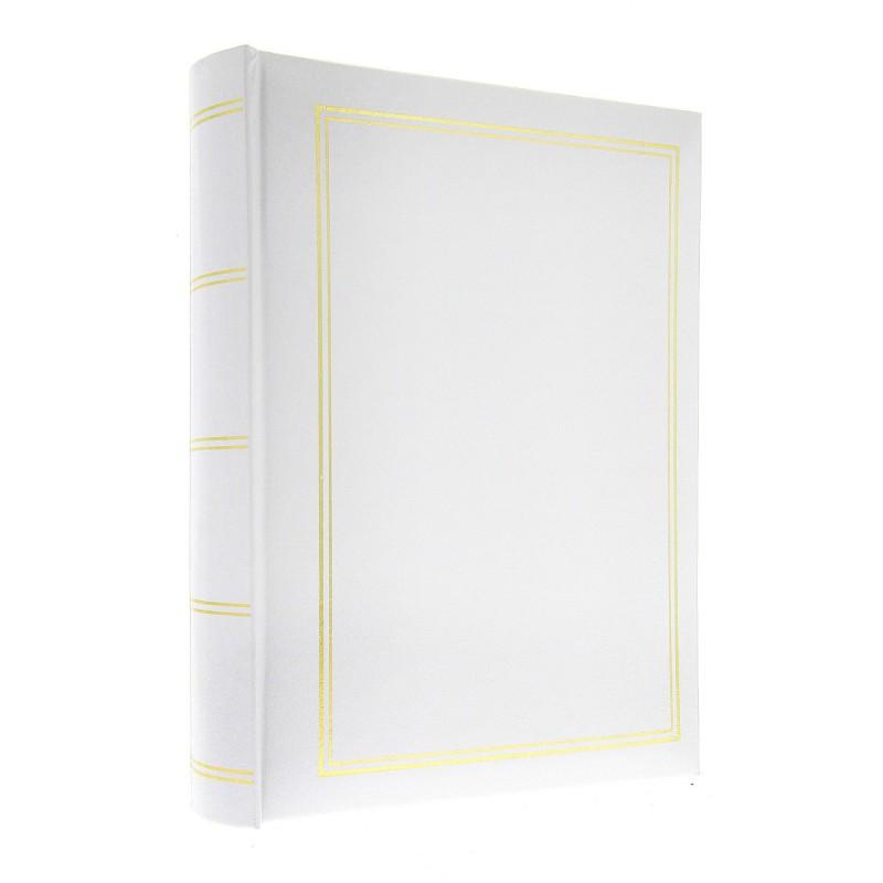 Album B4650 Classic Biały 10x15 zdj 50 zdj szyty z miejscem na opis