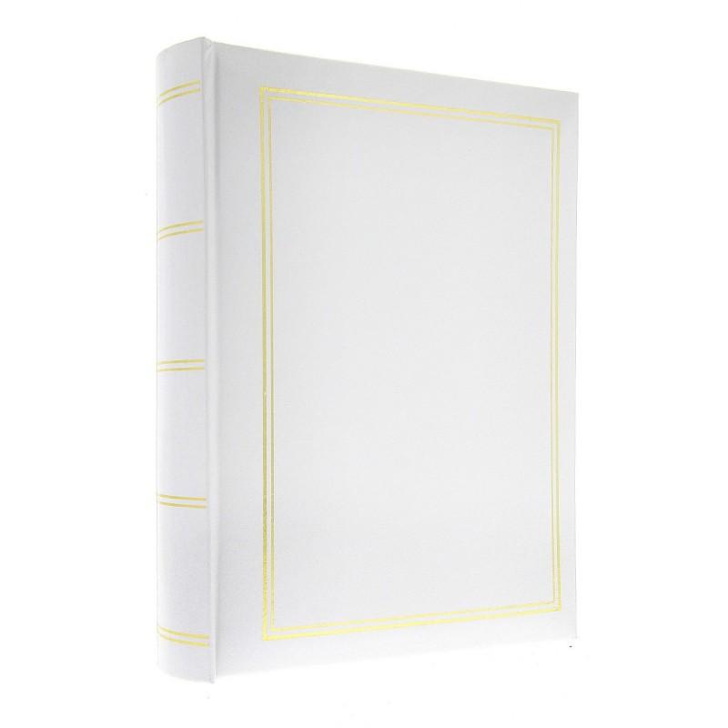 Album B6850 Classic Biały - 15x21 cm, szyty, z miejscem na opis