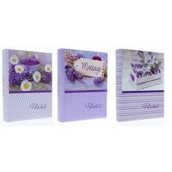 Album KD46200 Lavender 10x15 cm 200 zdj. szyty z miejscem na opis