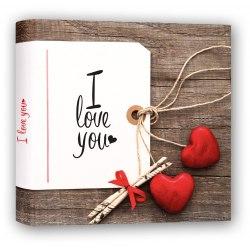 Album ZEP TVA2430 Valentine BOX 60 str. pergaminowy białe strony