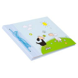 Gldbuch 04134 Happy Animals 40 white parchment pages