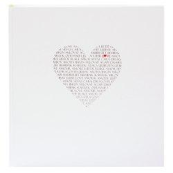 Album Goldbuch 08080 Love 60 str. pergaminowy białe strony