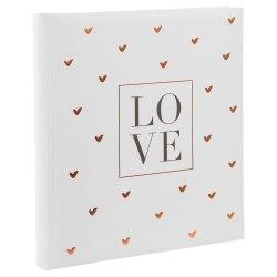 Album Gldbuch 08080 Love 60 str. pergaminowy białe strony
