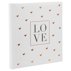 Gldbuch Gldbuch 08080 Love 60 white parchment pages