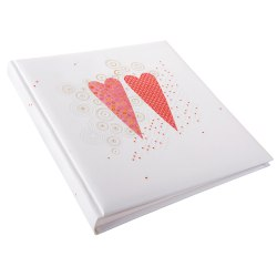 Gldbuch 08176 Love 60 white parchment pages