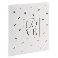 Księga Gości Goldbuch 48080 Love 23 x 25 cm, 176 stron