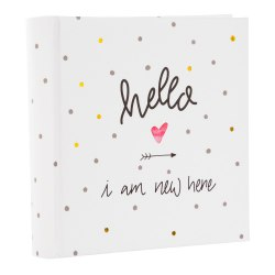 Goldbuch 17259 Hello I am new here 10 x 15 / 200 pcs memo
