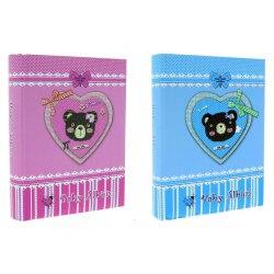 Album KD46200 Teddy Bear 10 x 15 cm 200 zdj szyty z miejscem na opis