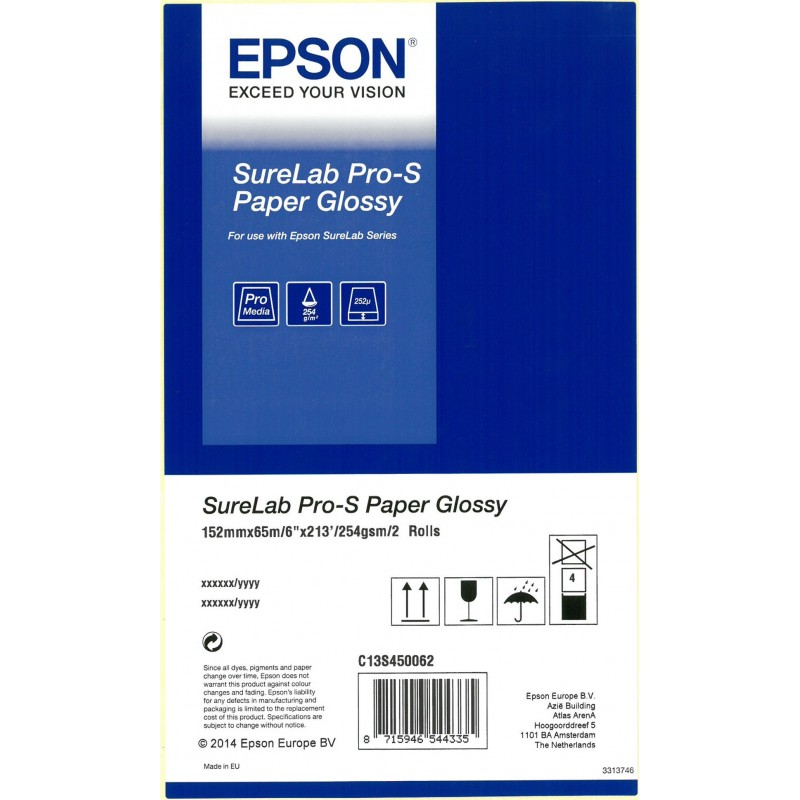Paper Epson Pro-S InkJet 15,2 Luster 65 m
