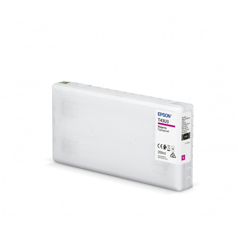 Cartridge T43U3 MAGENTA Epson SL-D800 200 ml