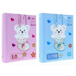 KD46300 Teddy Bear sewed, with space for description