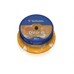 DVD-R Verbatim AZO Cake 25 szt.