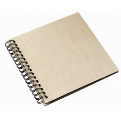 DBCSS30 Wood 60 black parchment pages