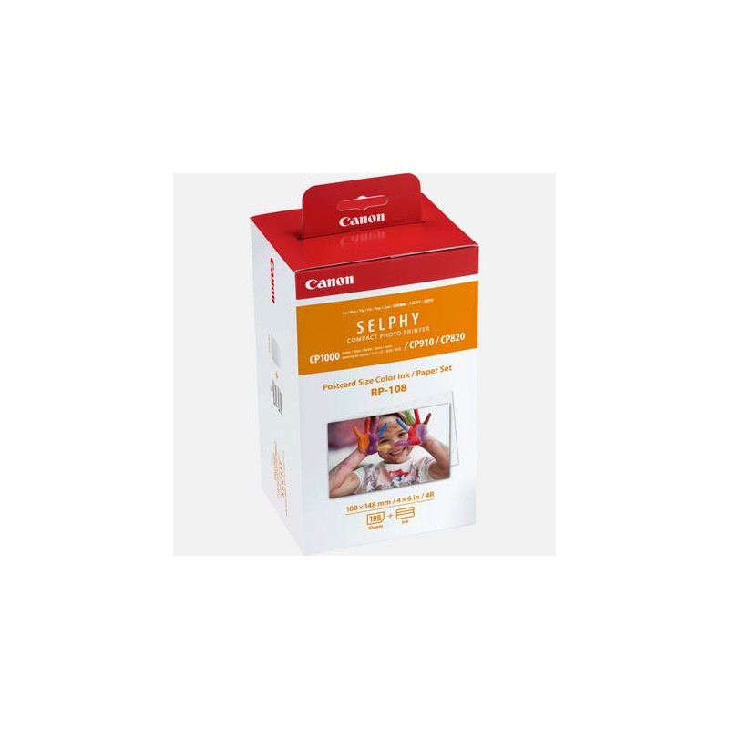 Canon KP-108 papier 10x15cm