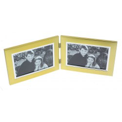 Photo Frame 10x15 cm x2 metal P104/2H