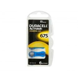 Bateria Duracell PR 675 6szt.