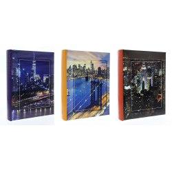 Album B46200 City by night 10x15 cm 200 zdj szyty z miejscem na opis