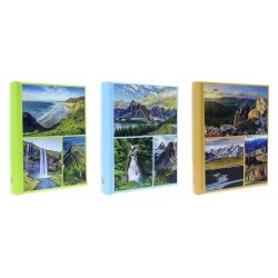 B46200 World 10 x 15 cm 200 pictures, sewed, with space for description