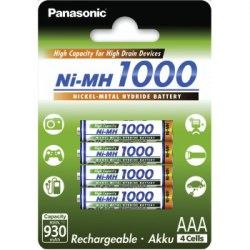 Panasonic R-03 AKU / 1000 MAH 4 PCS