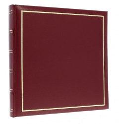 Album DBCM30 Vinyl Burgundy 60 str. pergaminowy białe strony