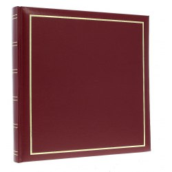DBCM30 Vinyl Burgundy 60 white parchment pages
