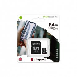 Karta SDXC micro 64 GB Kingston Class 10 100/10 MB/s