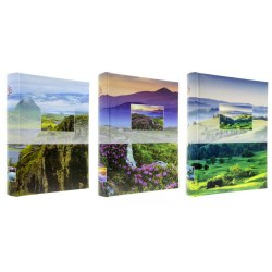 B46200 Scenery 10 x 15 cm 200 pictures, sewed, with space for description