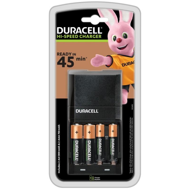 Duracell CEF14 + 2AA + 2AAA